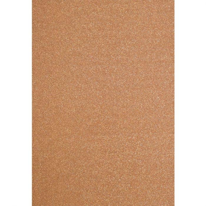 Florence • Glitter paper A4 5pcs 250g Copper