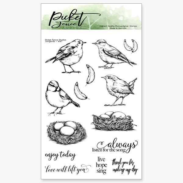 PFS Songbirds Clear Stamps (A-147)