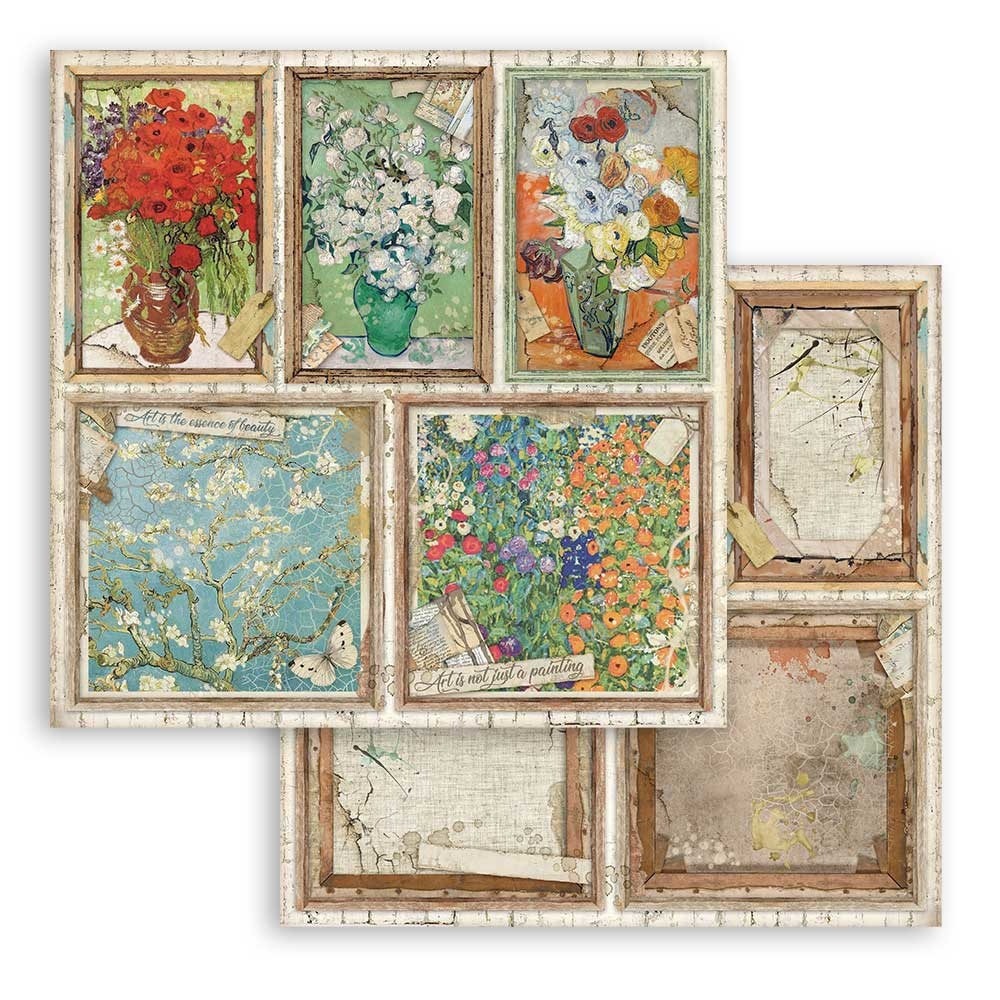 Stamperia Atelier Cards (SBB779)