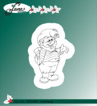 BLS1002 Stempel Christmas Elves