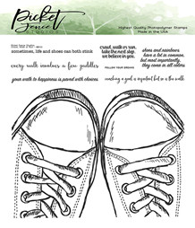 PFS Walk, Crawl or Run Clear Stamps (BB-133)