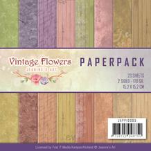 Papermania Papirblok Vintage Flowers