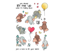 LDRS Creative Up and Away Clear Stamps (LDRS3186)