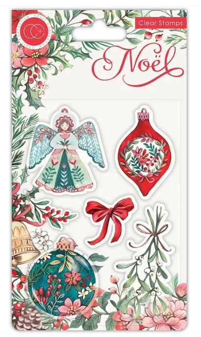CCSTMP044 NOEL - Stamp Set - Decorations