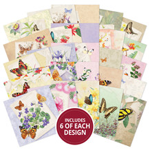 HD LBSQ120 The Square Little Book of Butterfly Botanica