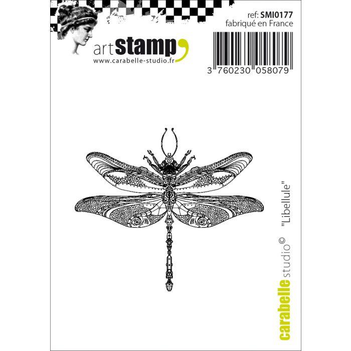 SMI0177 Cling Stamp Mini Libellule
