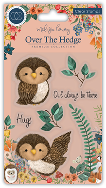 CCSTMP018 Over the Hedge - Stamp Set - Olivia the Owl