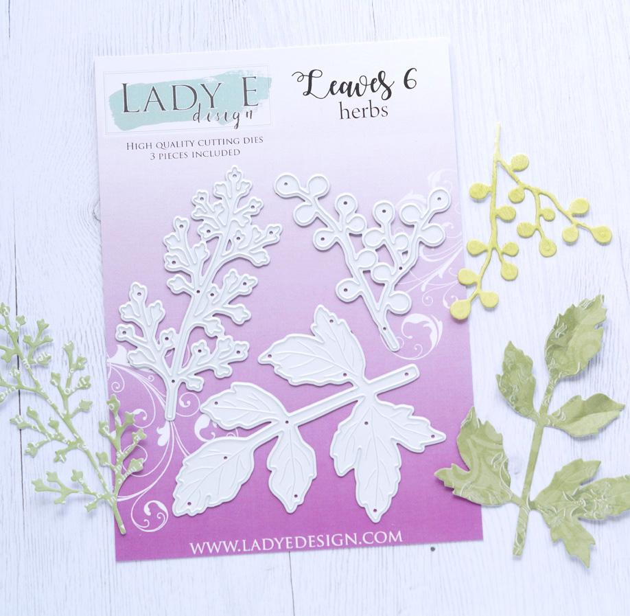 Lady E Design Leaves 6