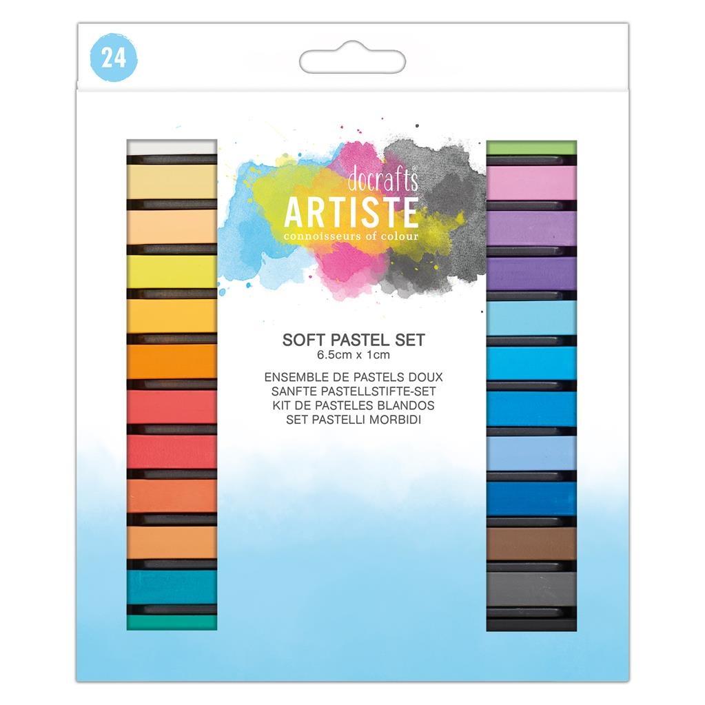 DOA 551006 Soft Pastel Set (24pk)