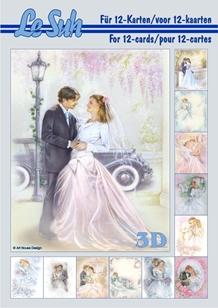 3d A5 bog: Bryllup motiver