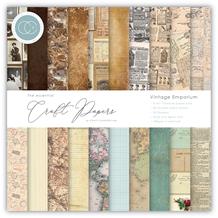 CCEPAD004B The Essential Craft Papers - 6x6 Vintage Emporium