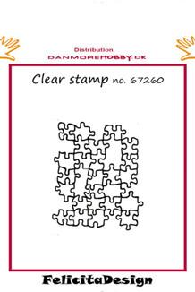 FelicitaDesign Stempel puzzel stempel