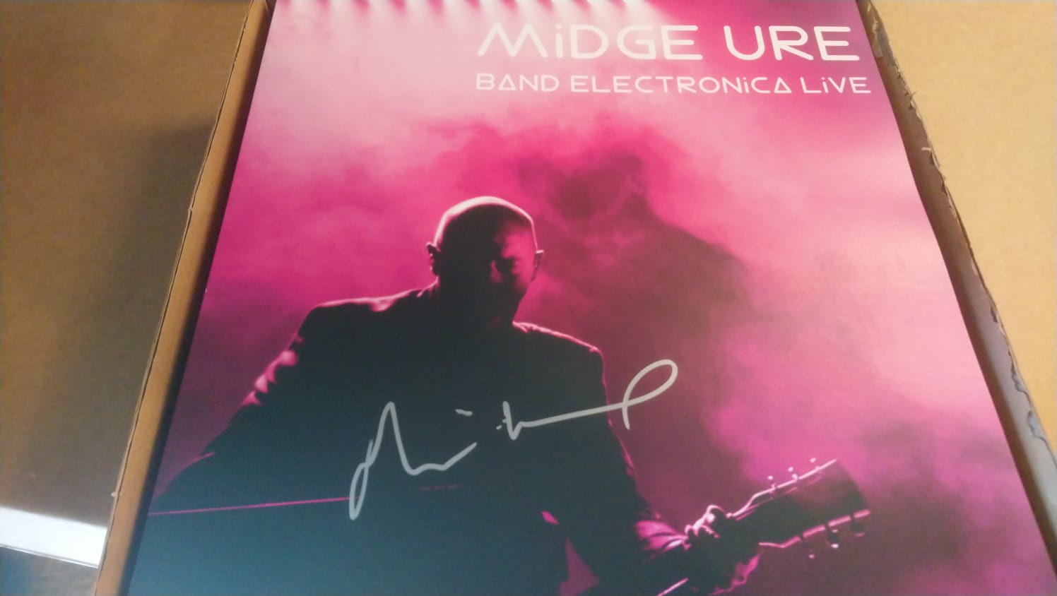 SIGNED Band Electronica Live in 2017 LP