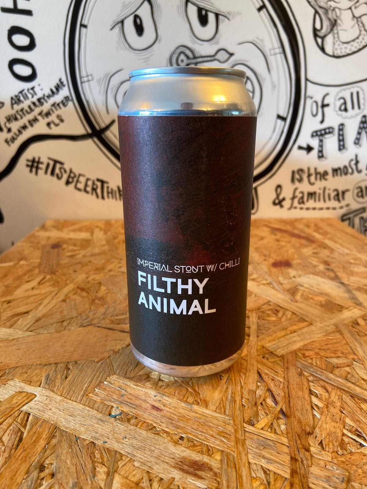 Boundary Filthy Animal // Imperial Chilli Stout 8.6%