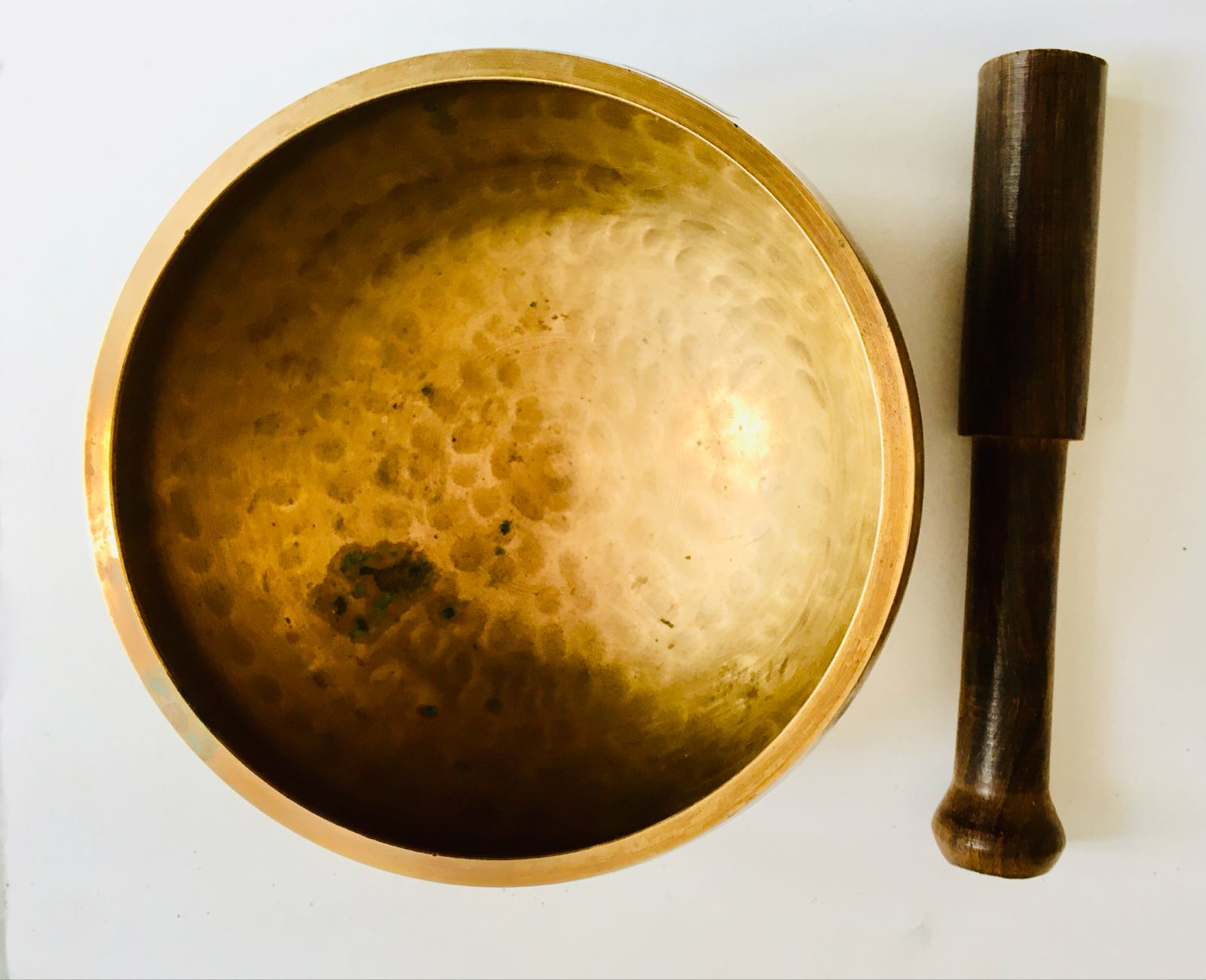 Singing Bowl and Beater  - sound dimension F