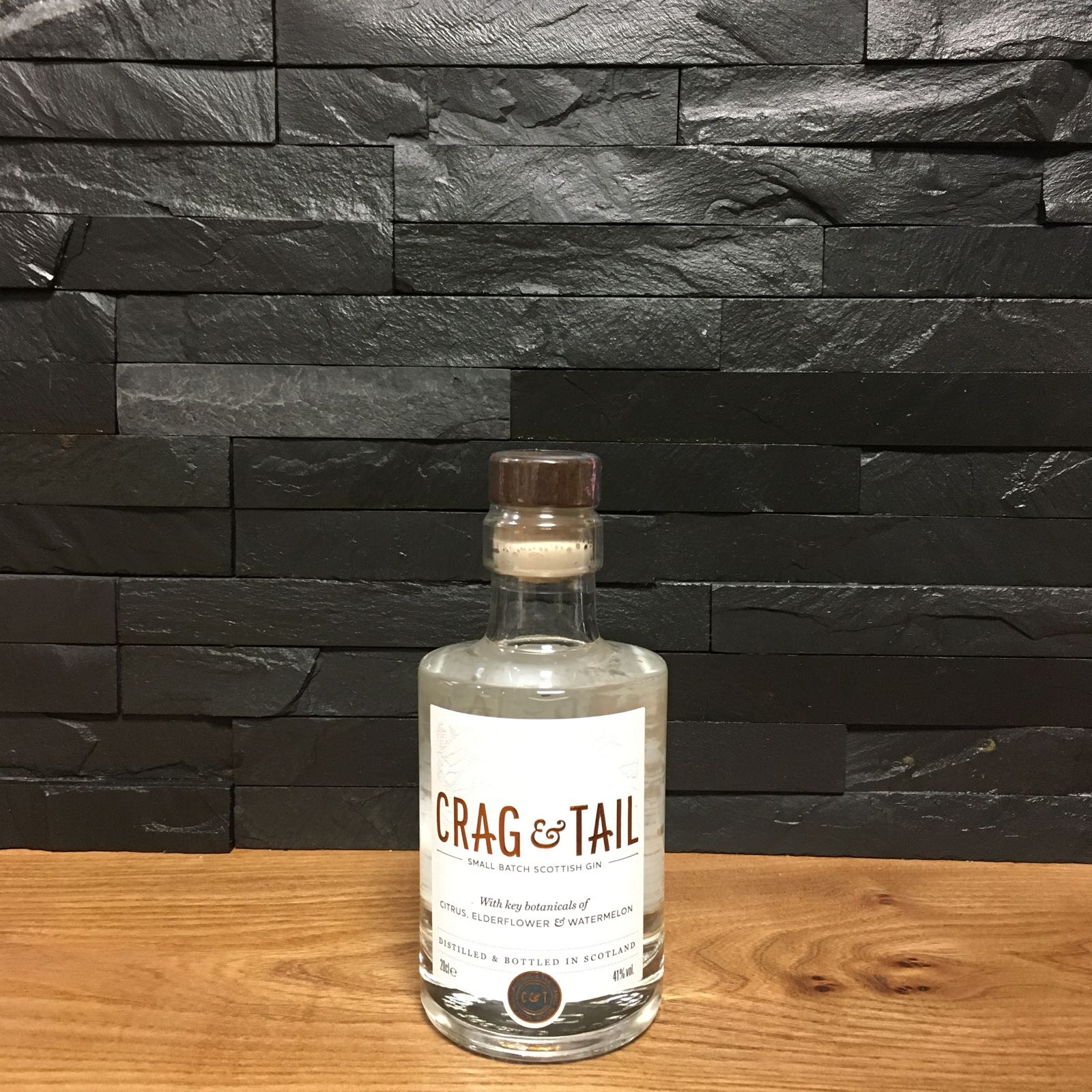 Crag & Tail Gin 20cl