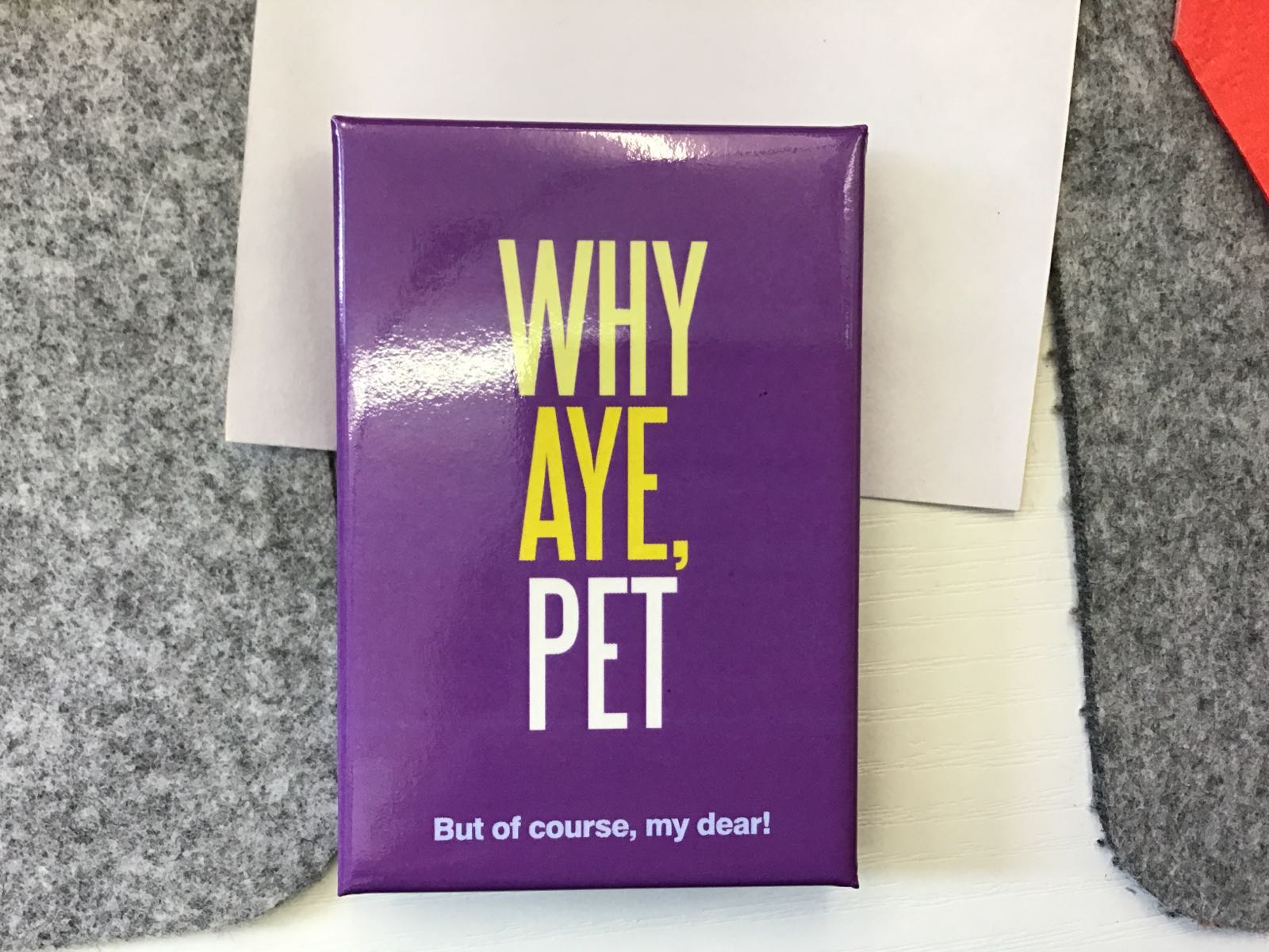 Whey Aye Pet