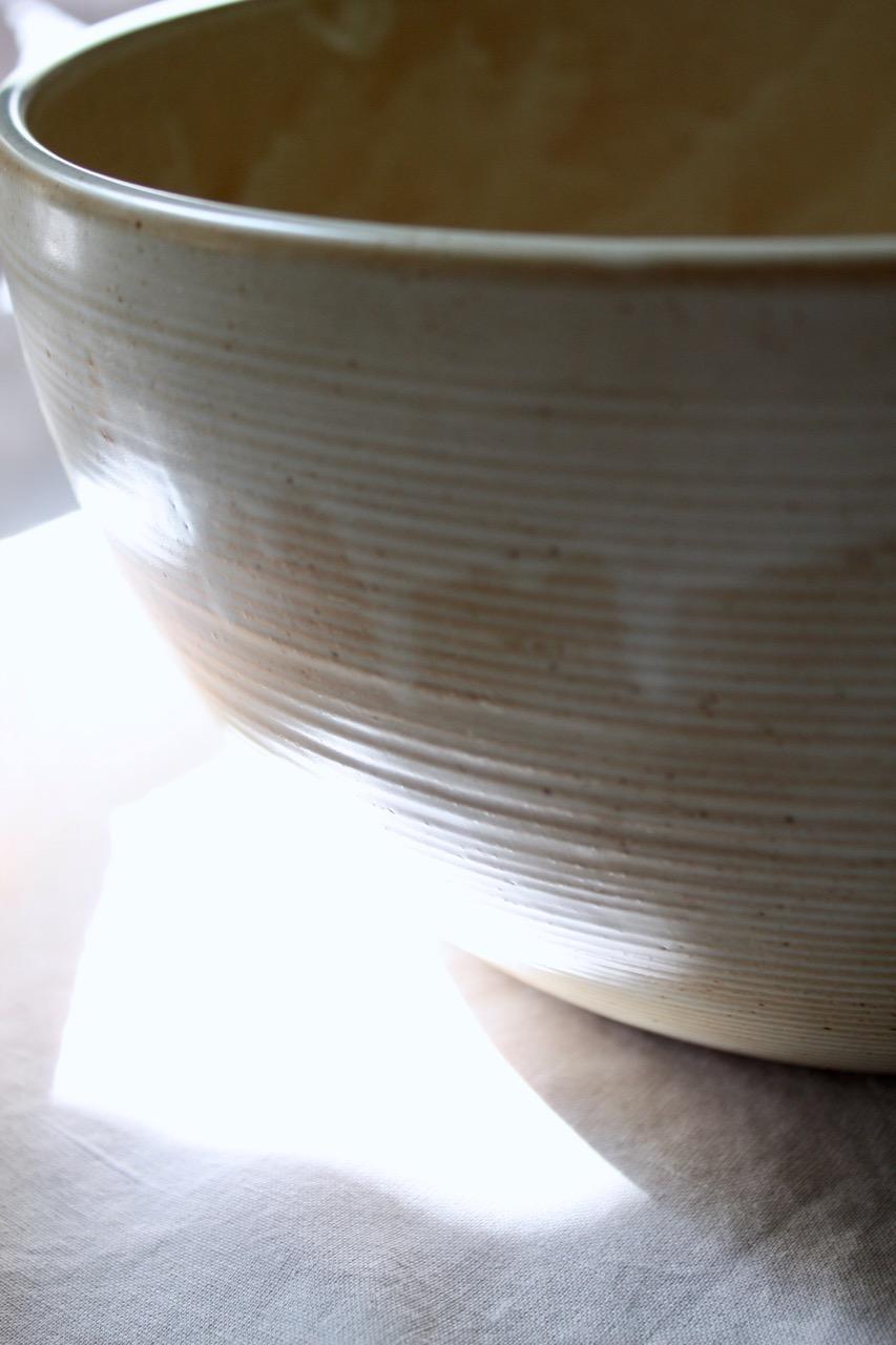 Stor skål, fransk keramik 60-tal