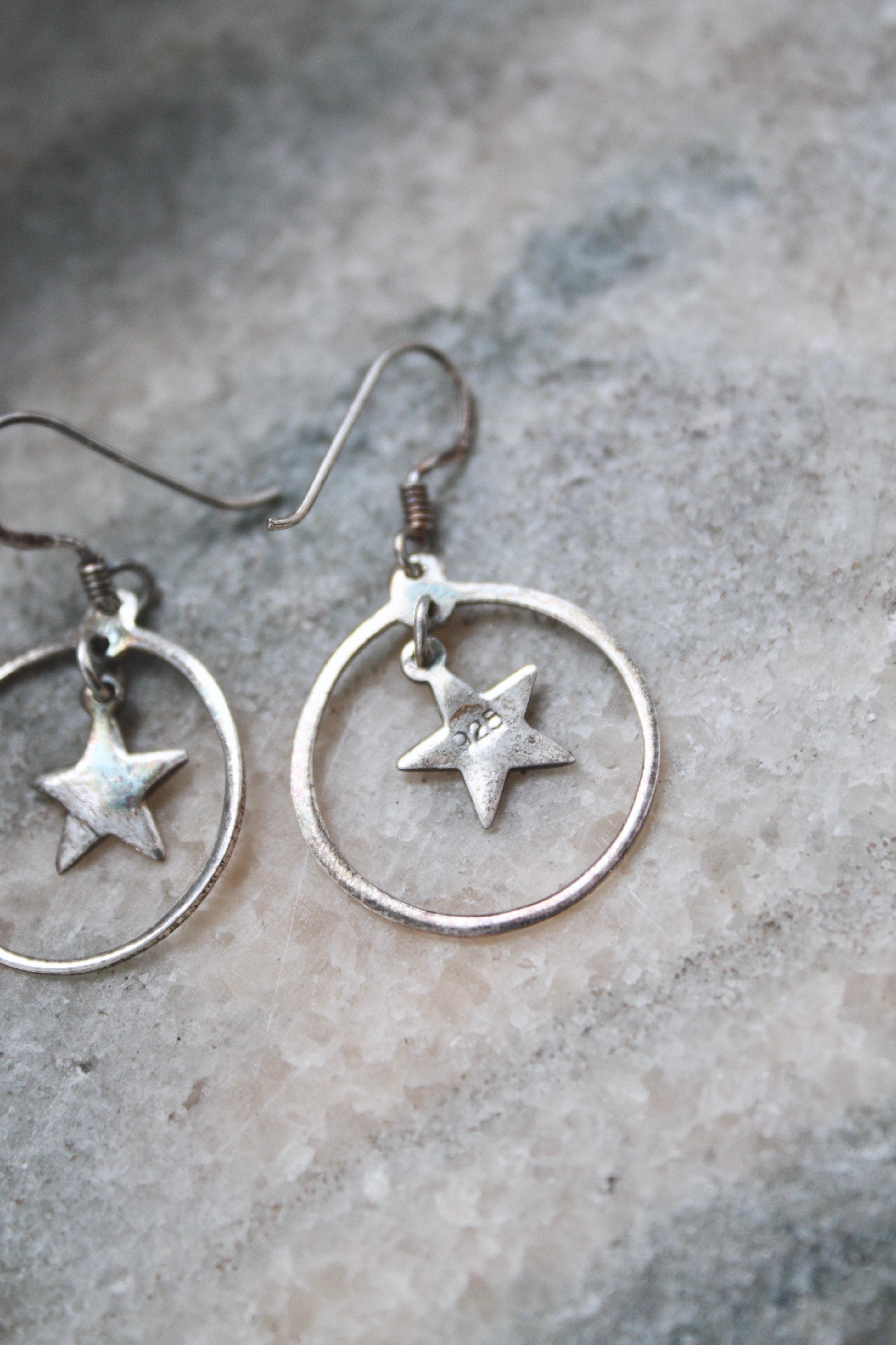 Silverörhängen stjärna