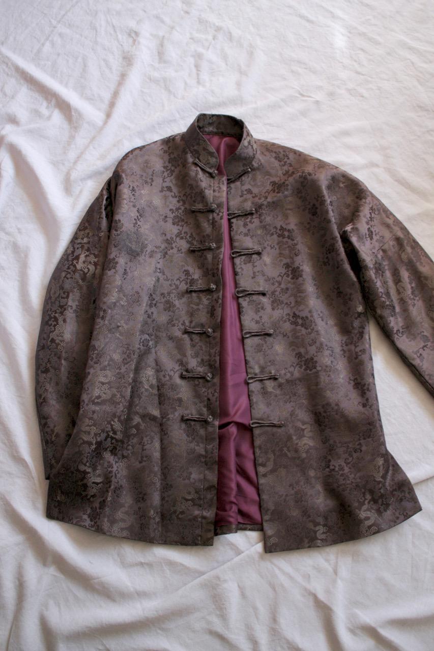 Vintage brun kimonojacka, free size