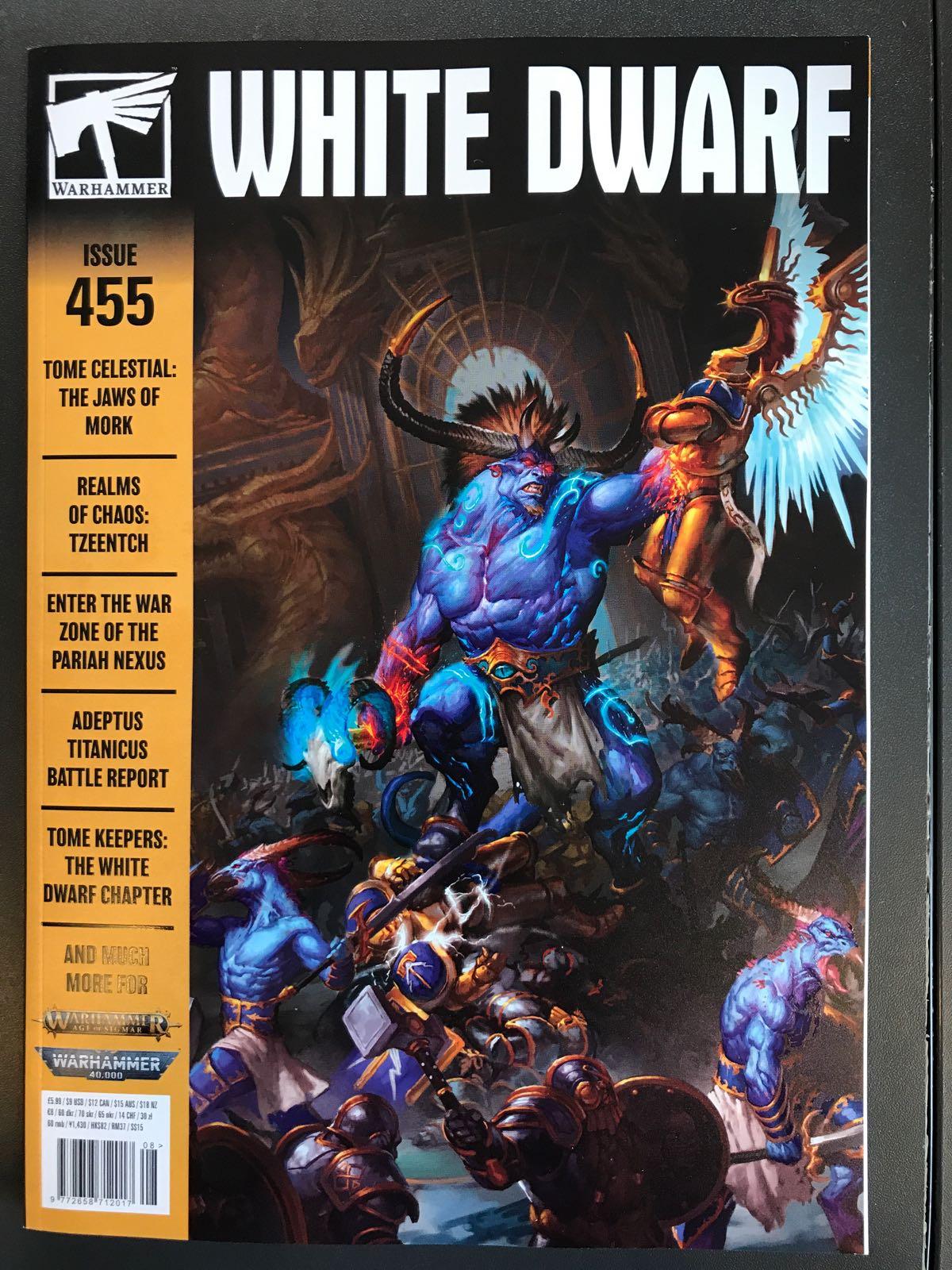 WHITE DWARF: ISSUE 455