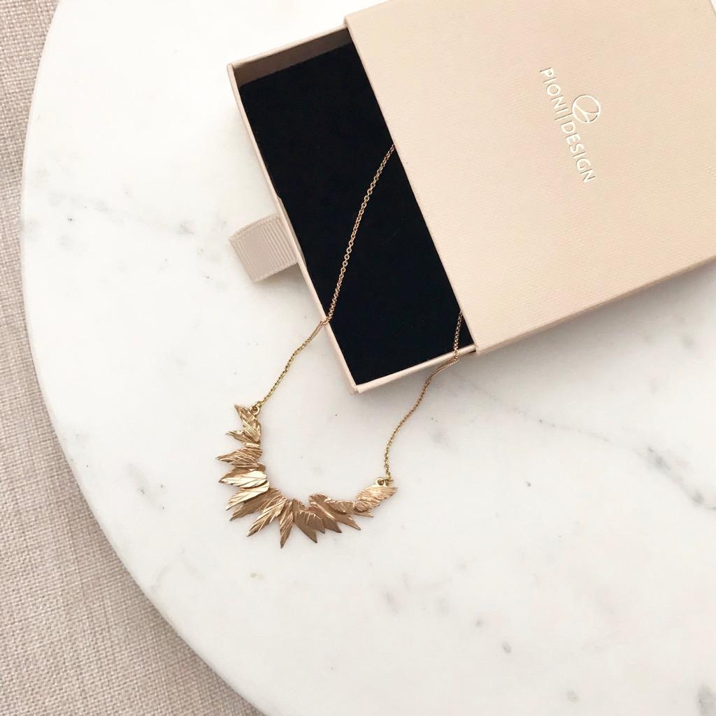 Taival-kaulakoru 14k kulta | Journey necklace 14k gold