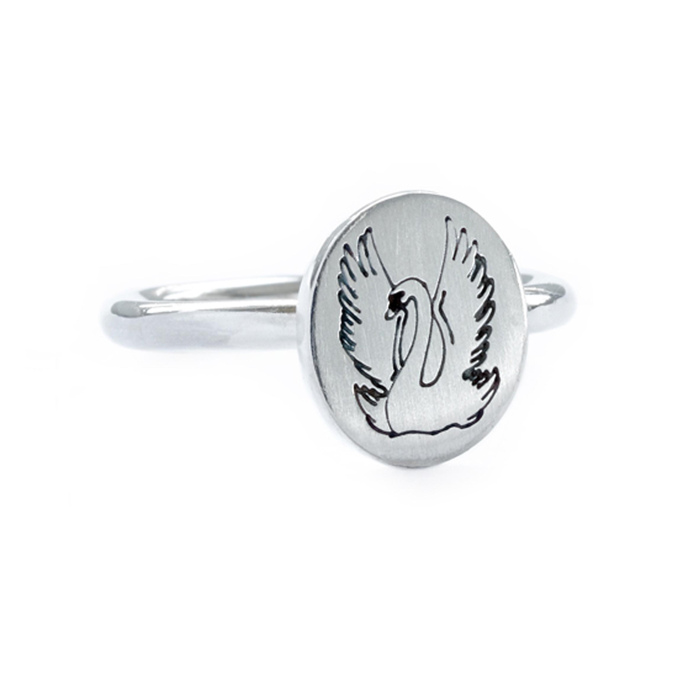 Joutsen-sormus | Swan ring