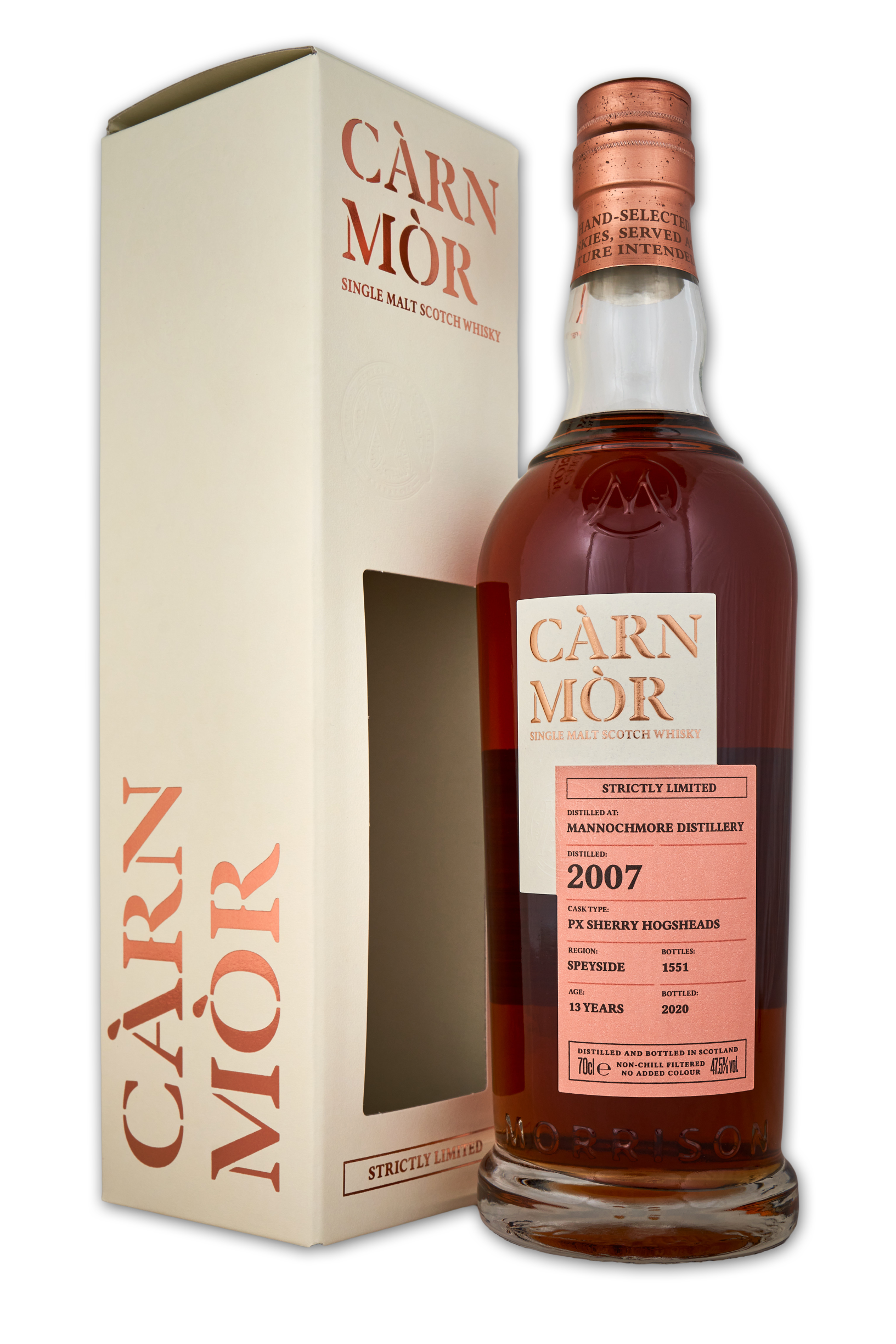 Carn Mor Strictly Limited: Mannochmore 2007