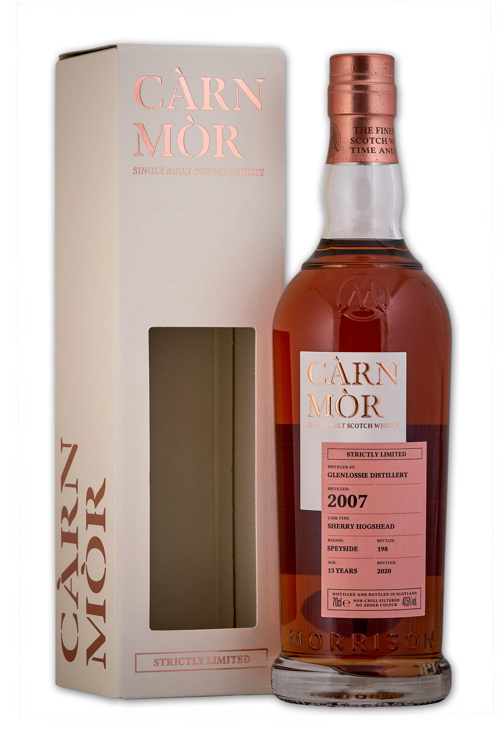 Glenlossie 2007 / Carn Mor Strictly Limited