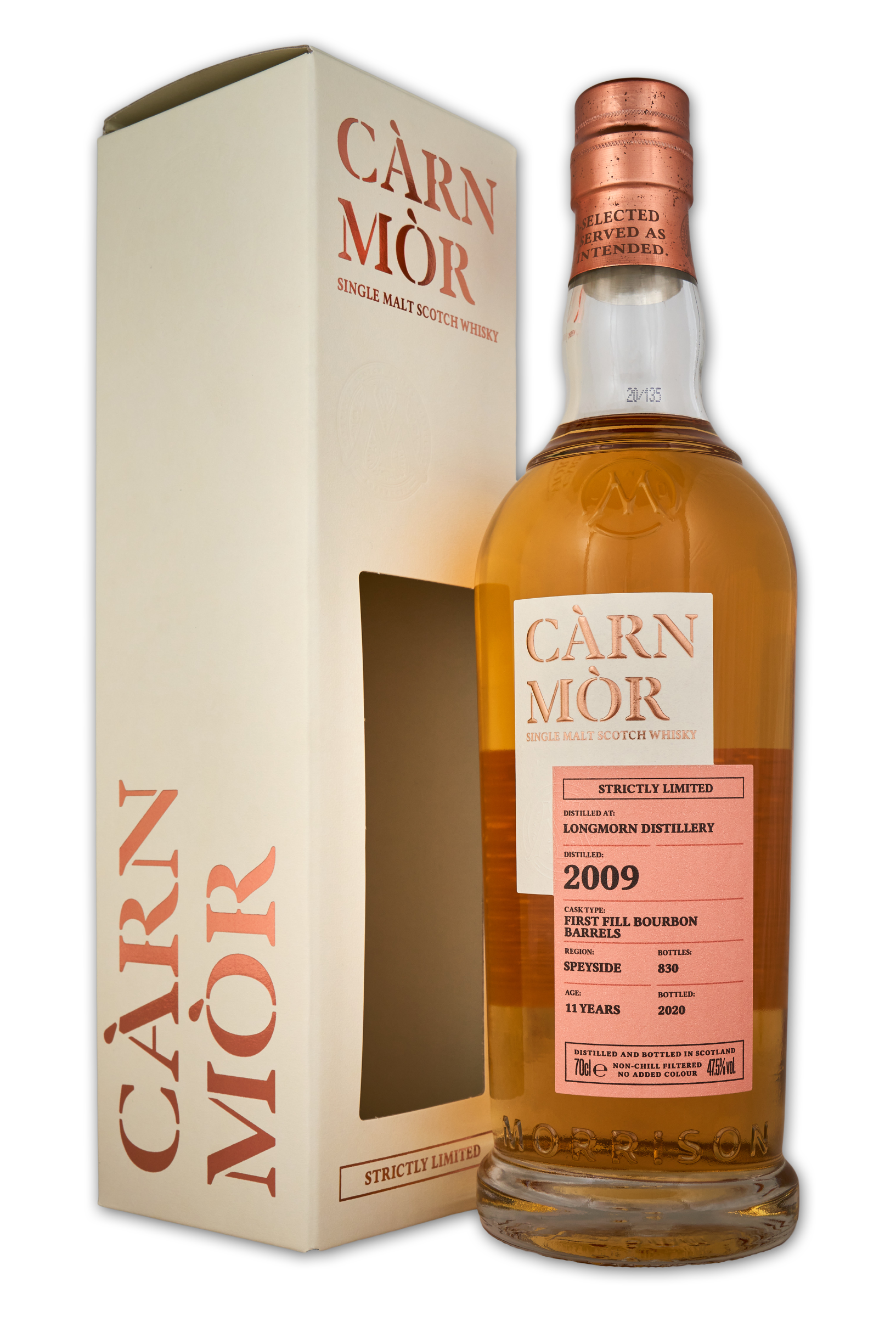 Carn Mor Strictly Limited:Longmorn 2009