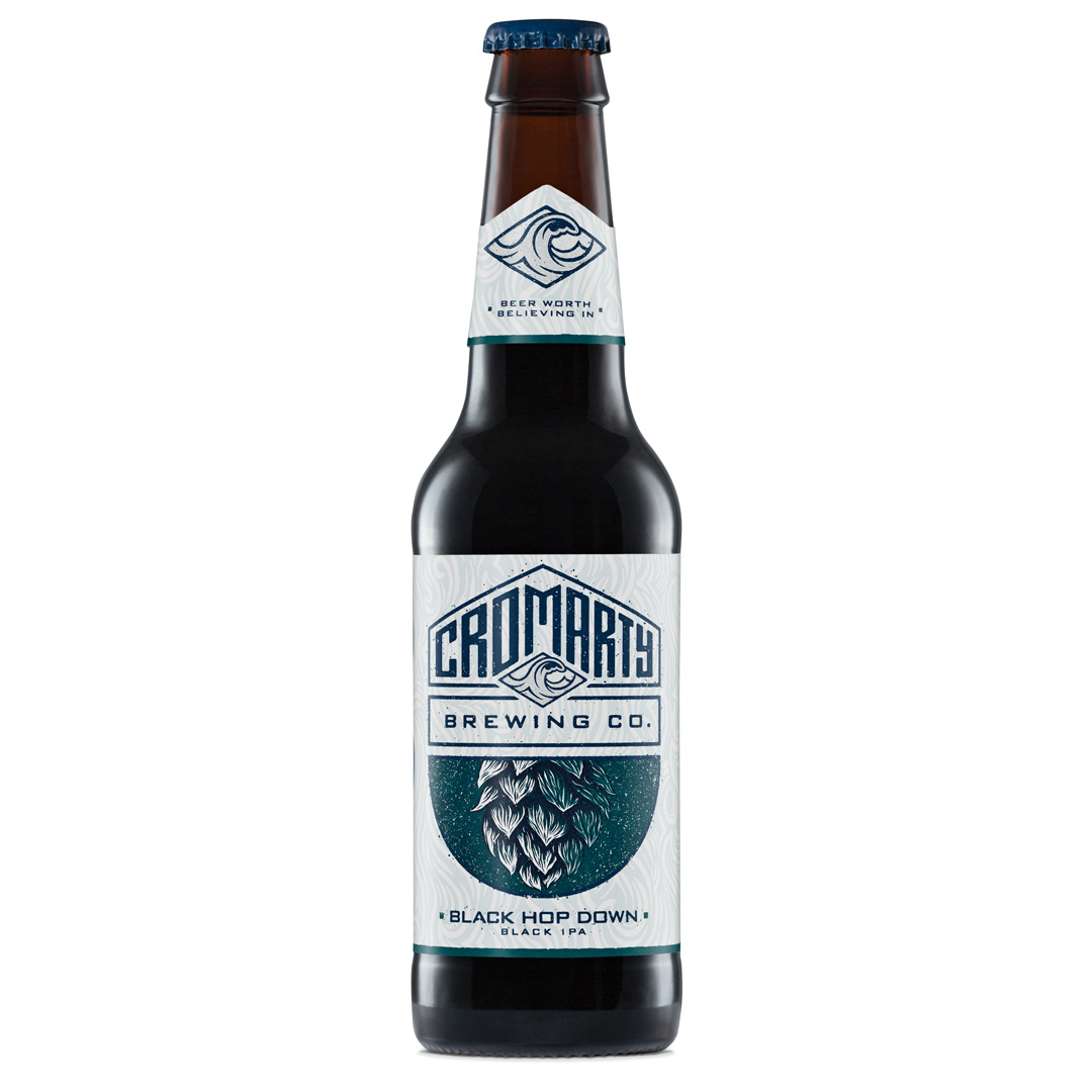 Cromarty Brewing Co: Black Hop Down