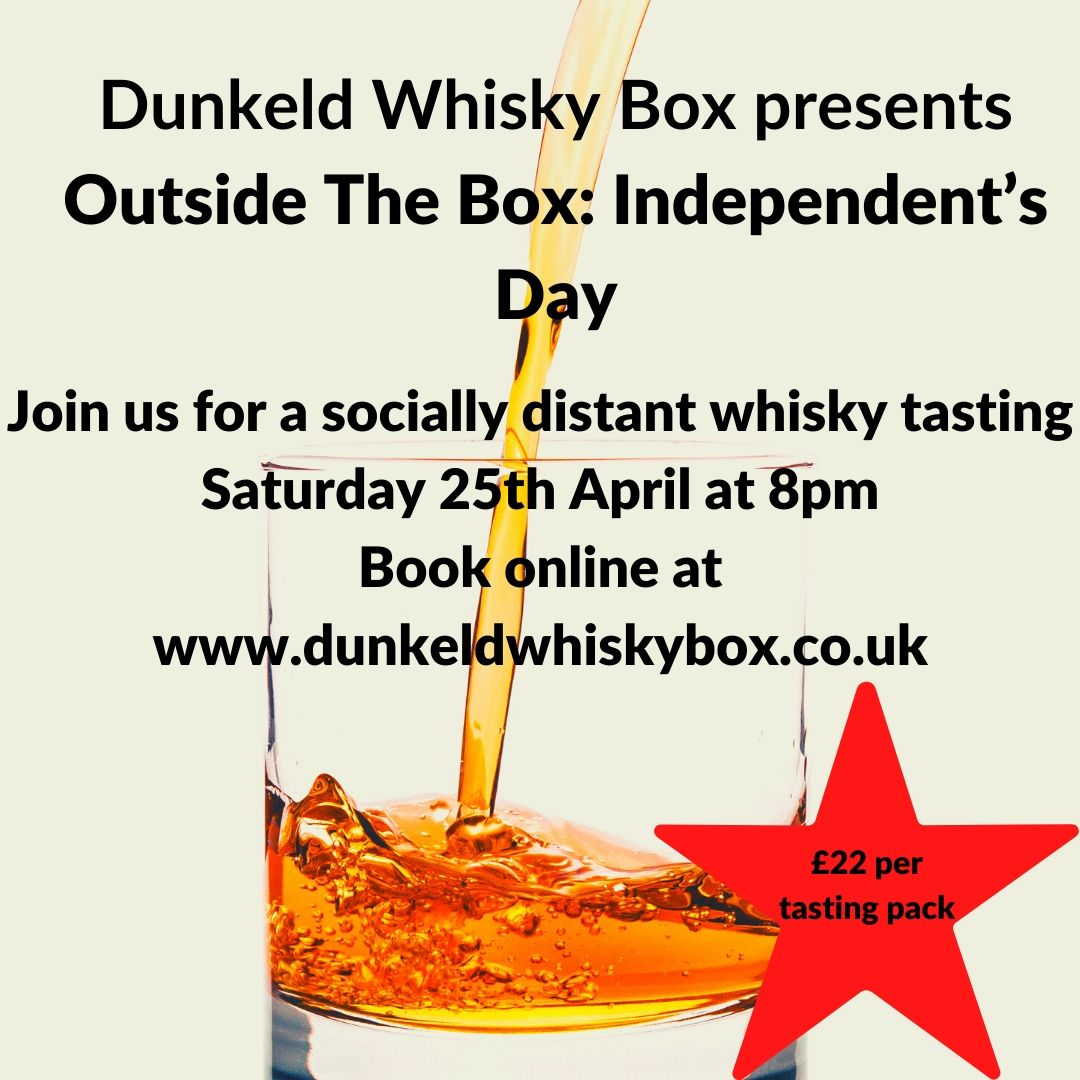 Outside the Box Tasting: Independent's Day (25th April)