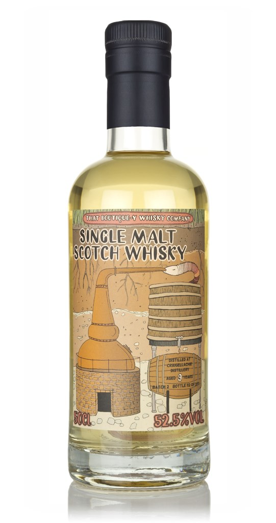 Craigellachie 9yo (Batch 2) / That Boutiquey Whisky Company