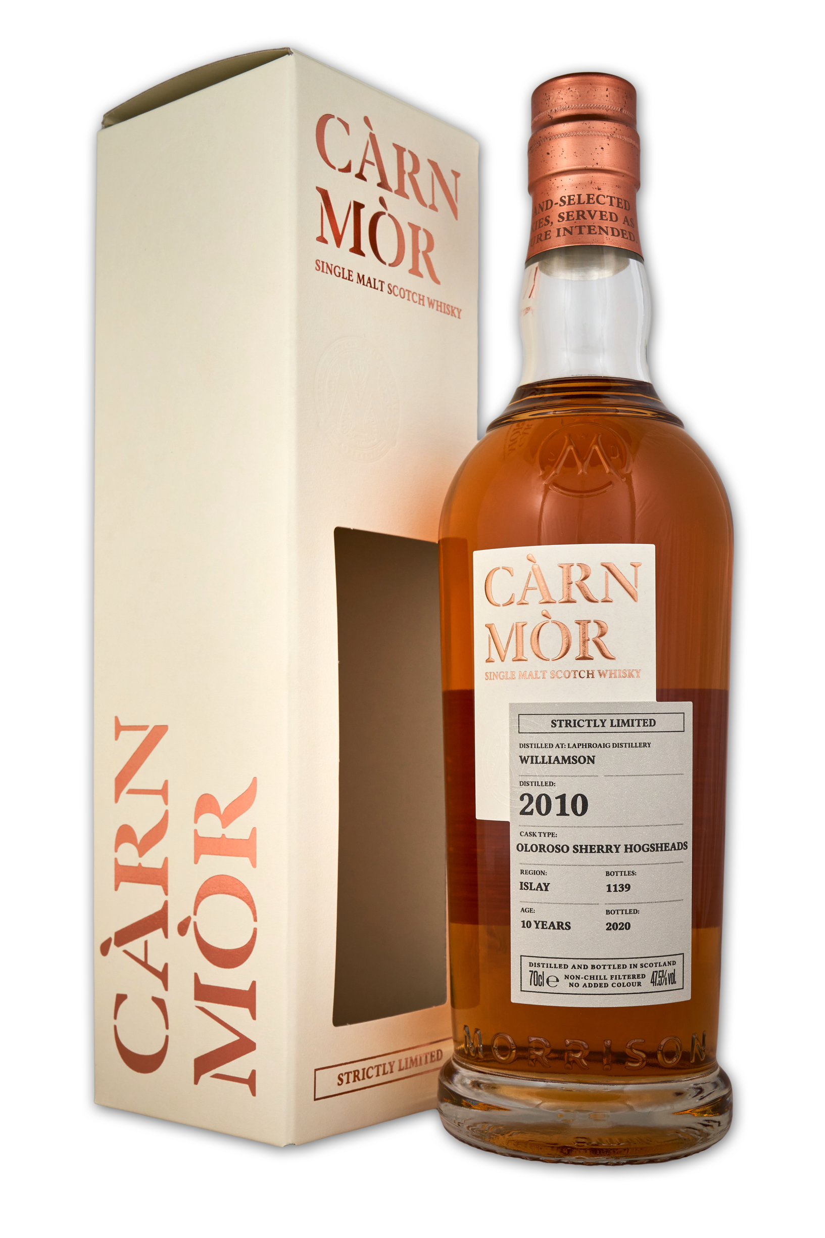 Carn Mor Strictly Limited: Williamson (Laphroaig) 2010