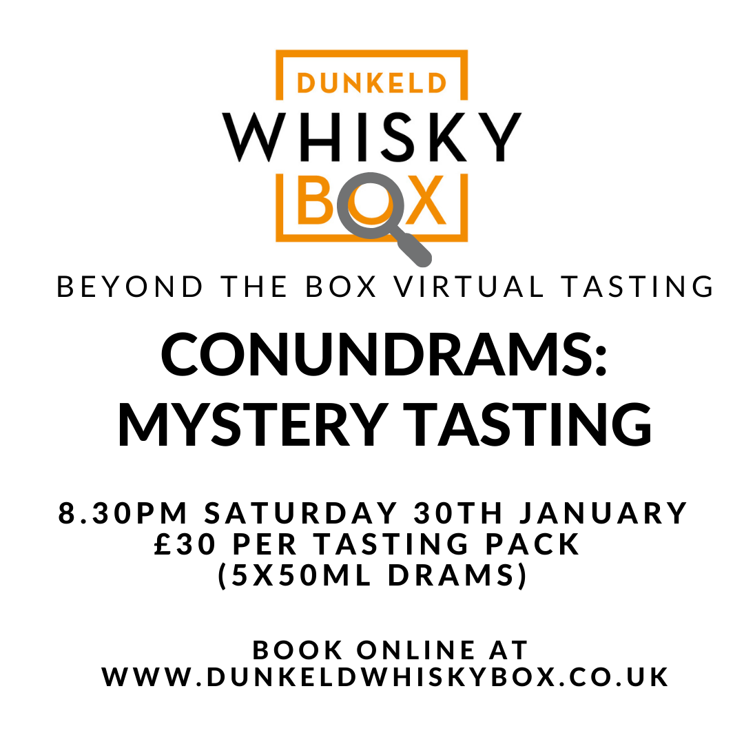 Beyond the Box: Conundrams - A Mystery Tasting