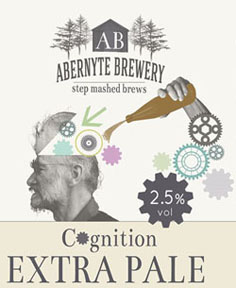 Abernyte Brewery: Cognition Extra Pale (2.5%)