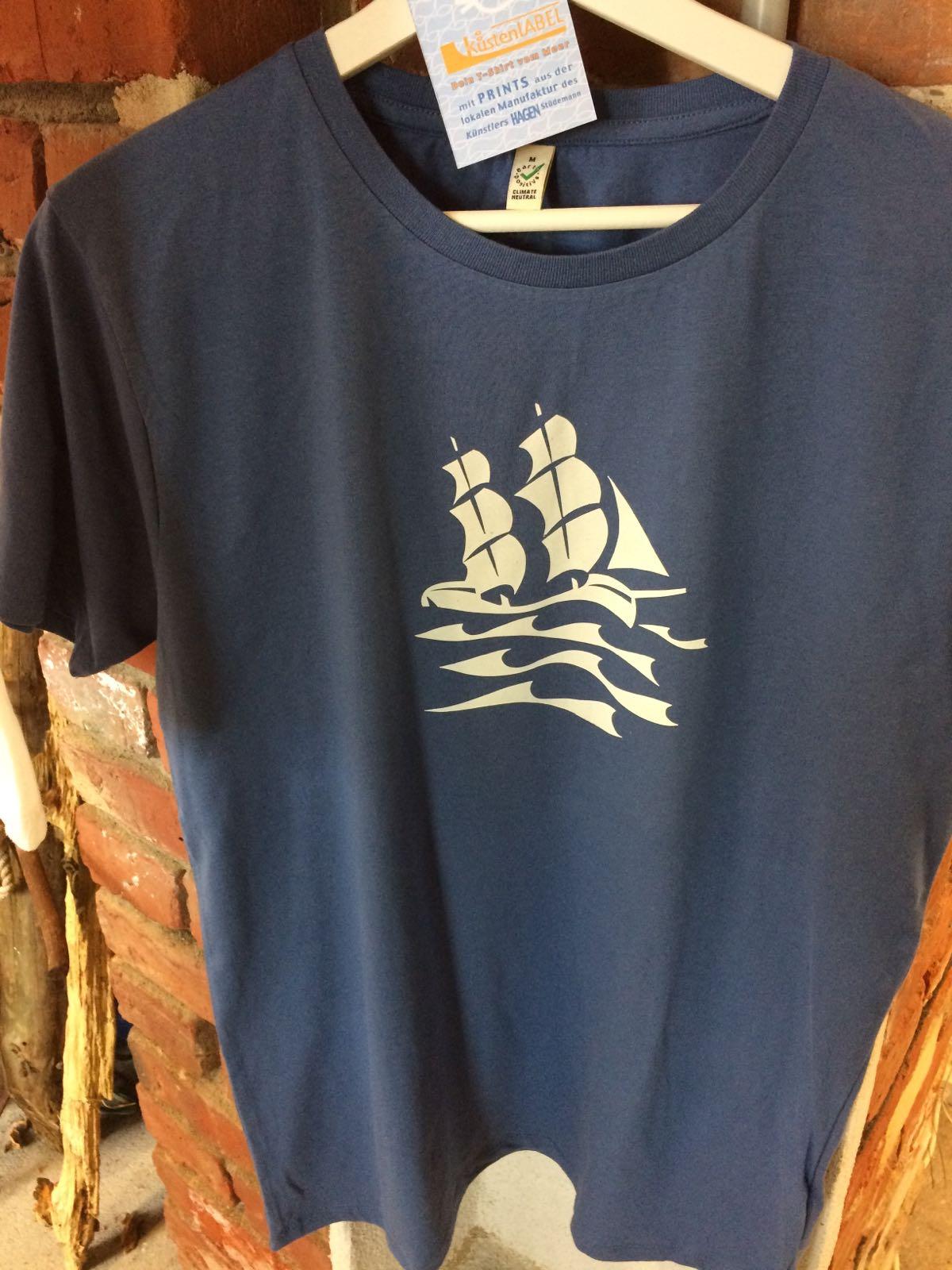 Küstenlabel - Segelschiff, Herren