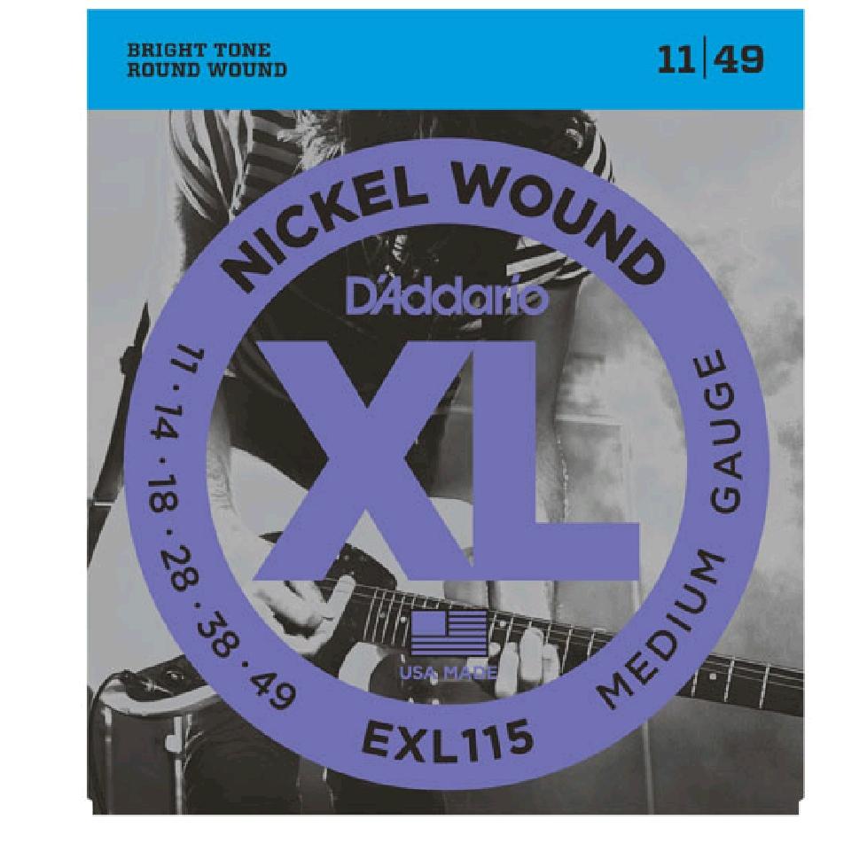 Daddario EXL115 NICKEL WOUND 11-49