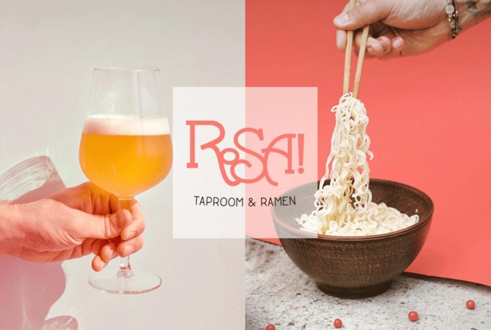ROSA! Taproom y Ramen