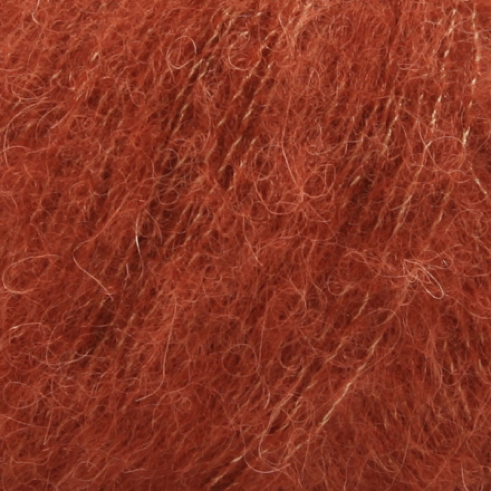 DROPS Brushed Alpaca Silk, uni colour 24 rust
