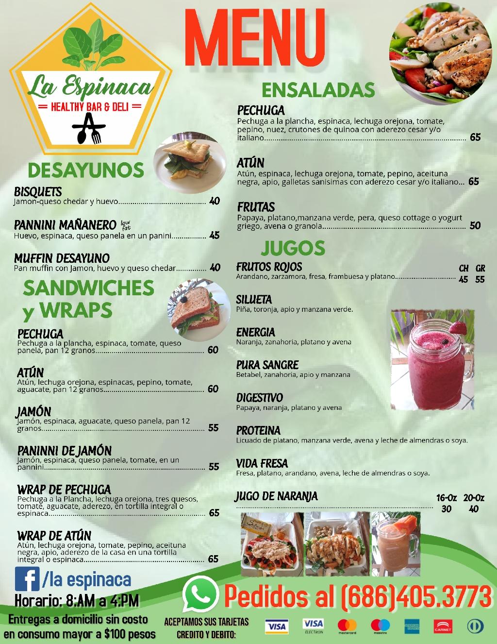 La Espinaca Healty Bar & Deli