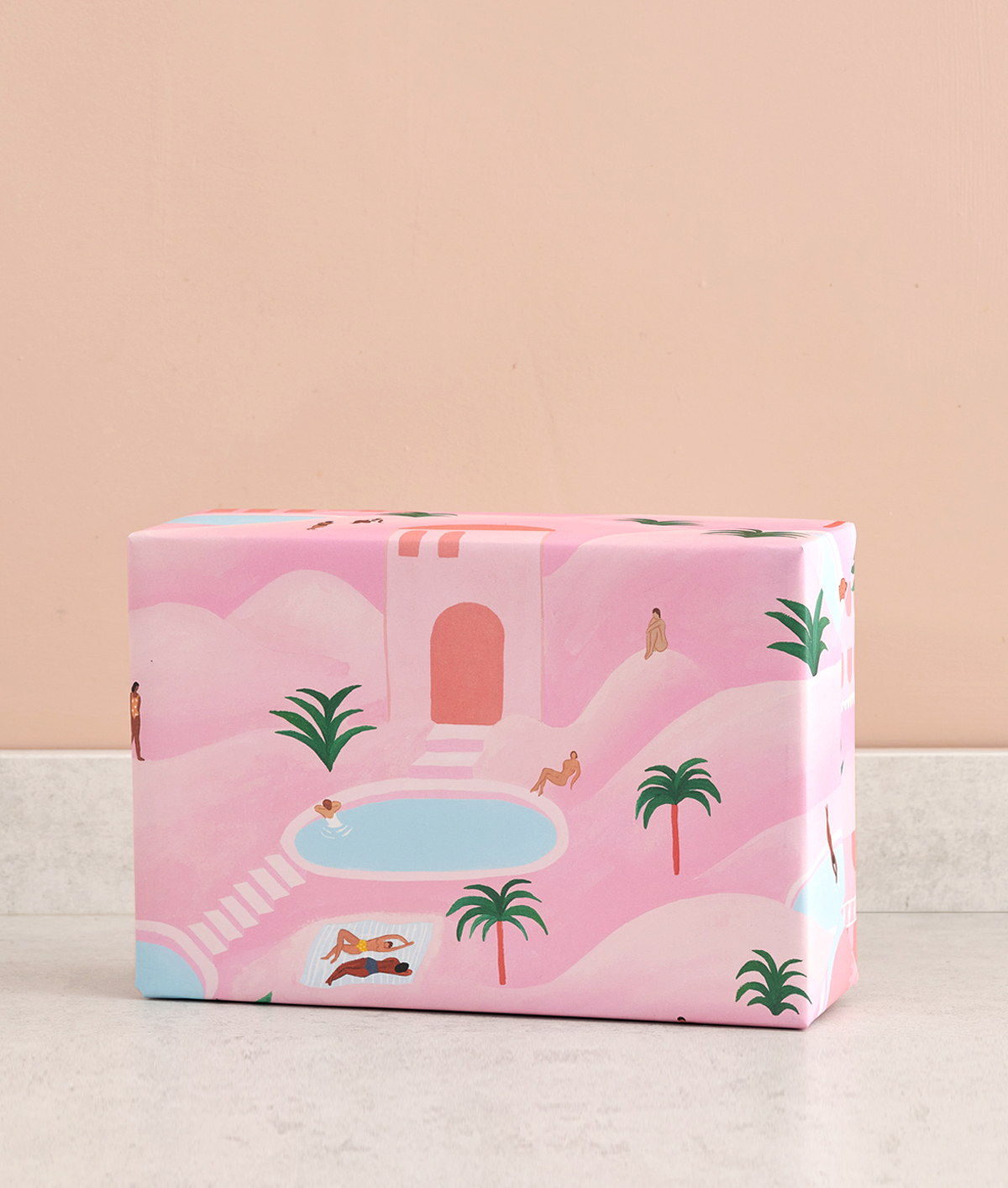Wrapping paper - Desert Oasis