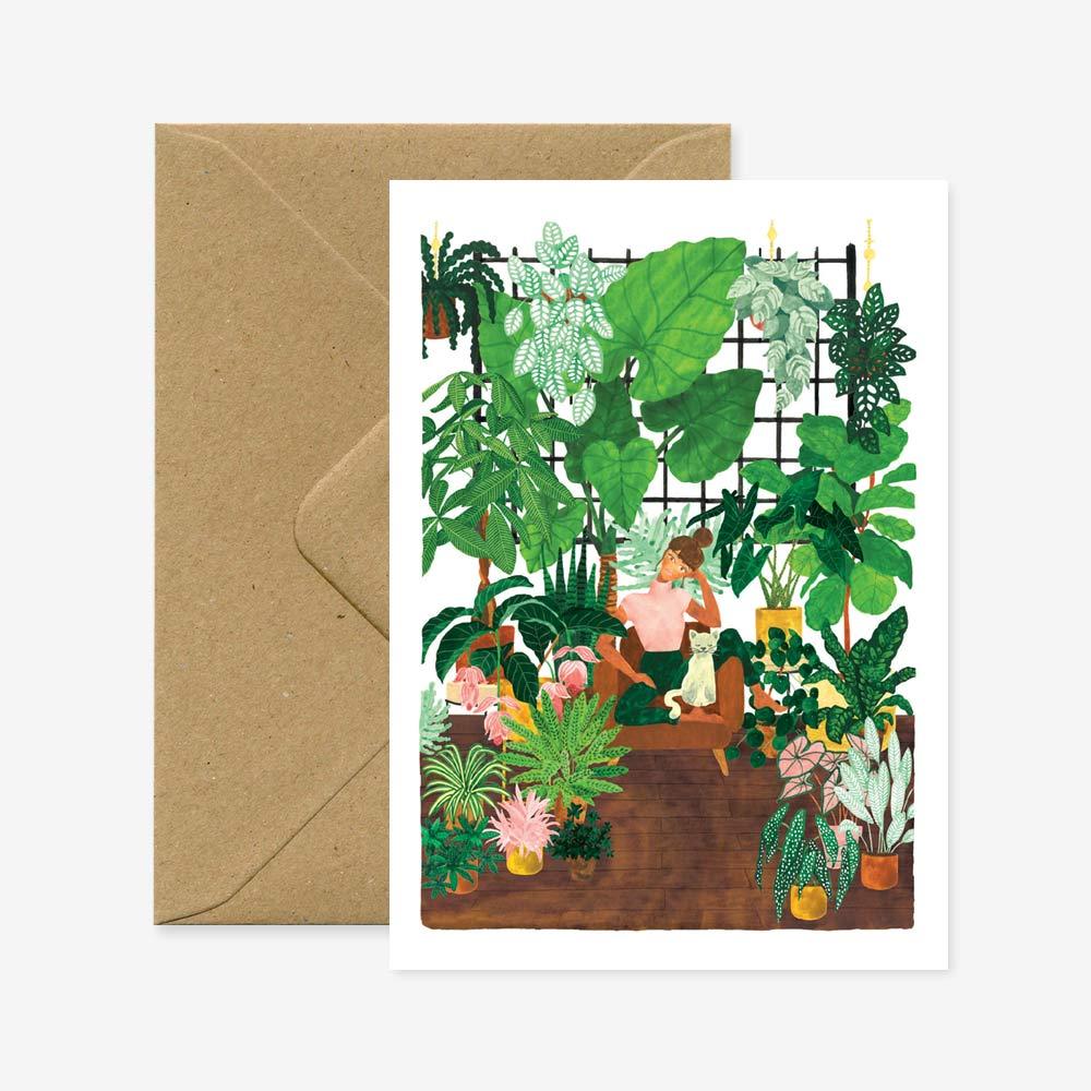 Plant lady lifestyle