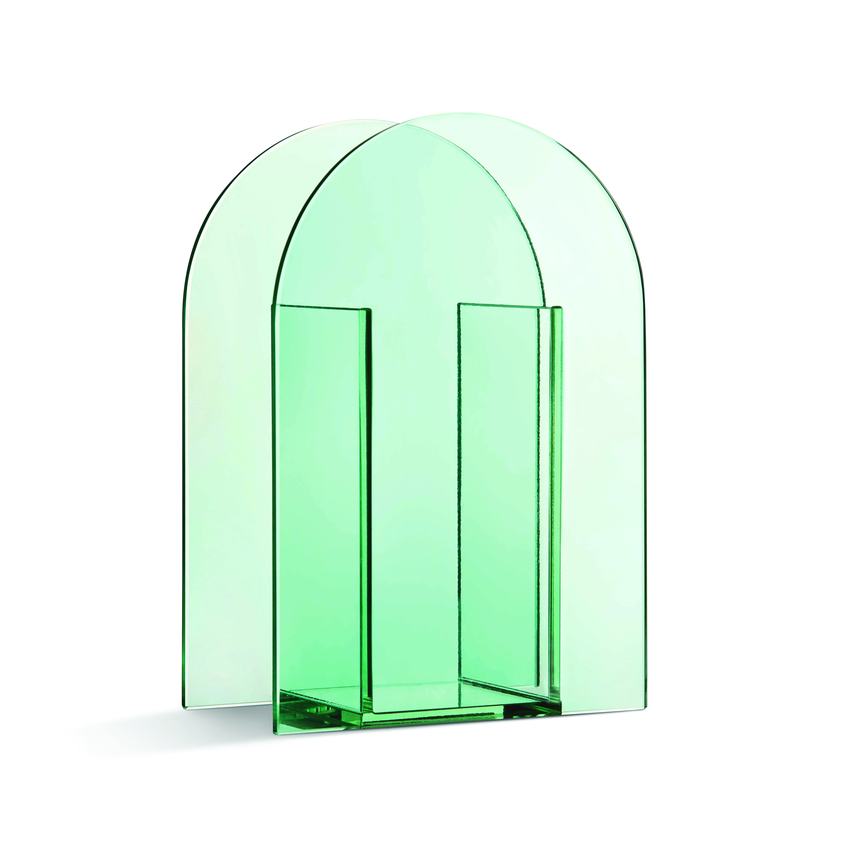 Arch green vase