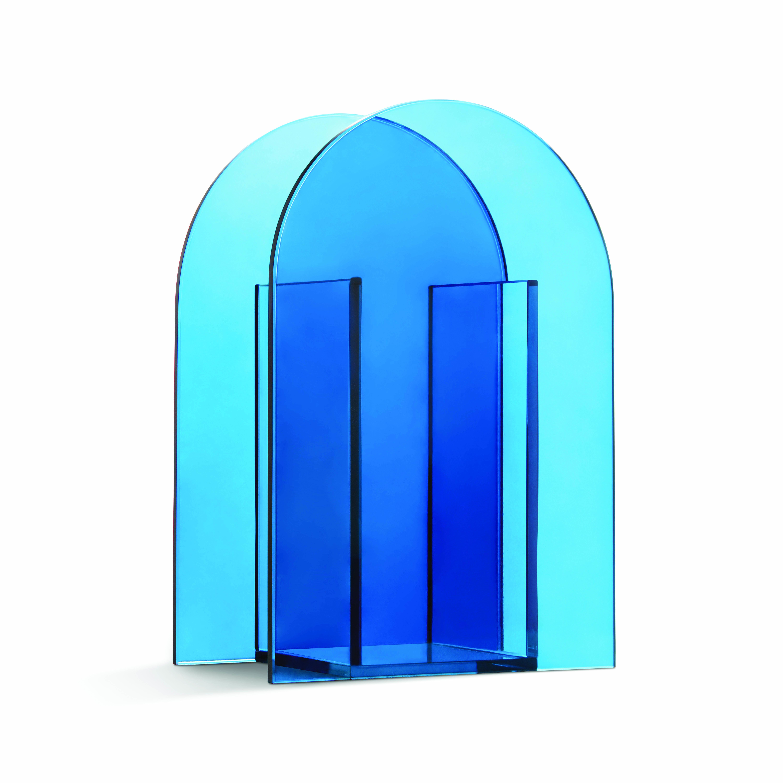 Arch blue vase