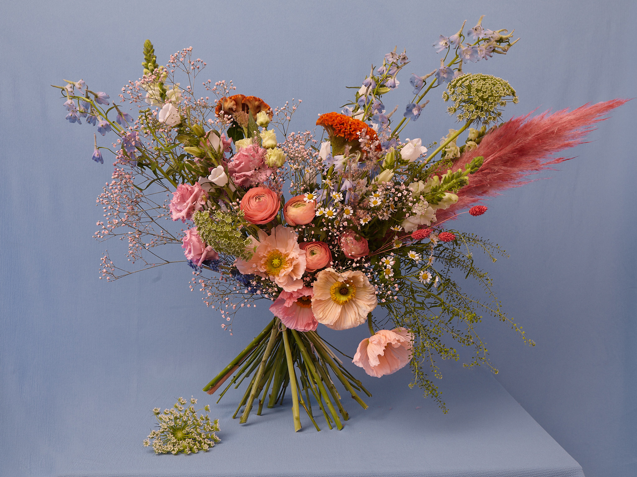 Fresh flower bunch: Large