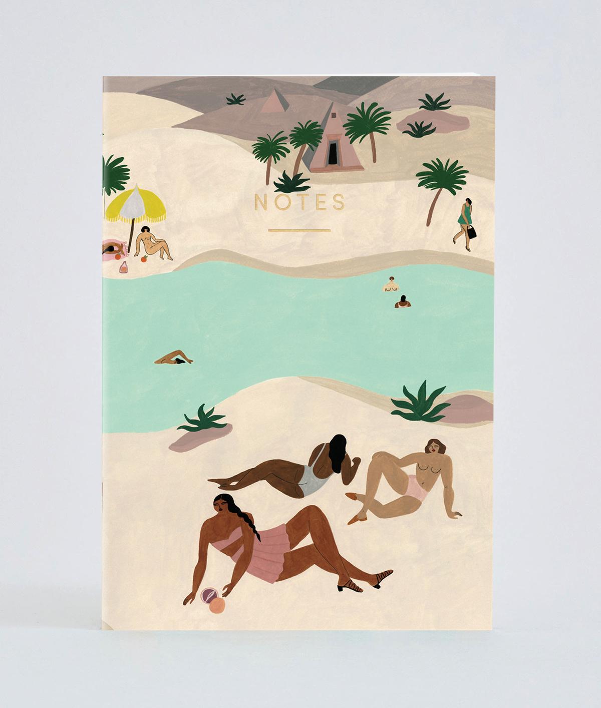 Notebook Desert River