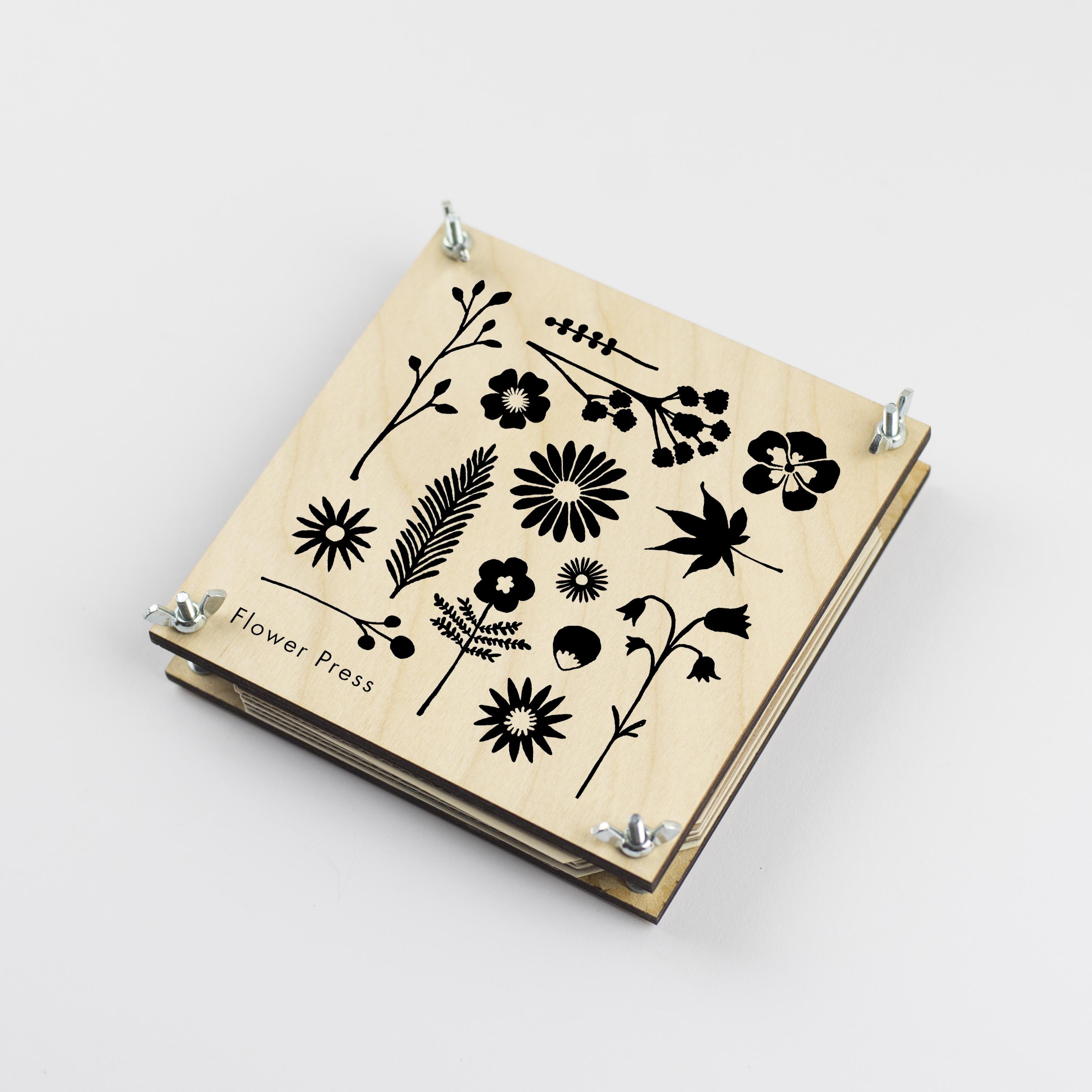 Flower press - Silhouette