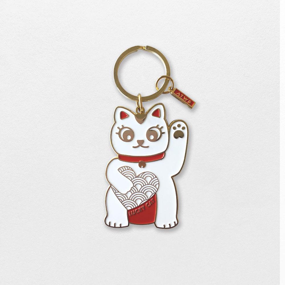 Keychain - Lucky Cat