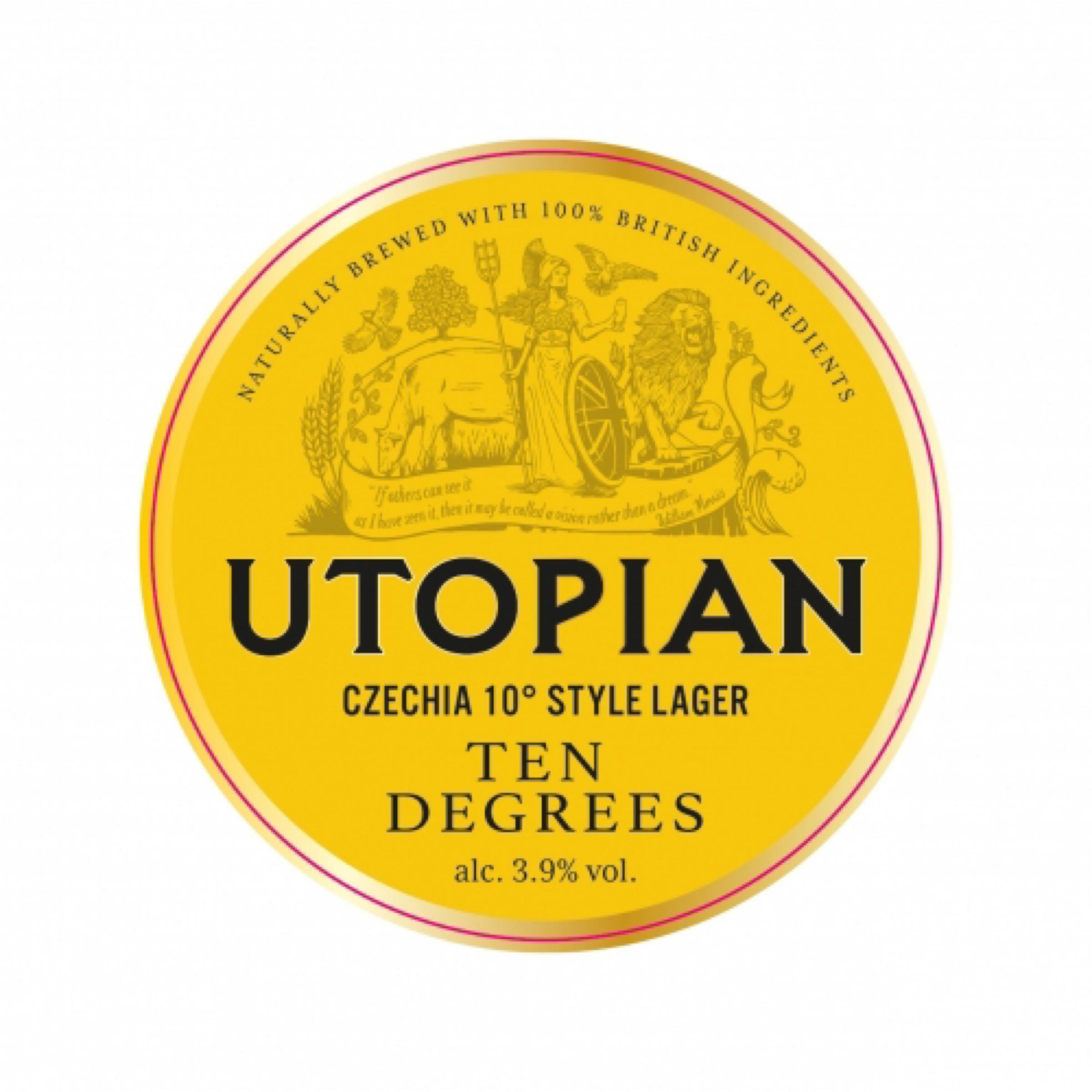 Utopian Czech 10 Session Lager 1 Litre Draught